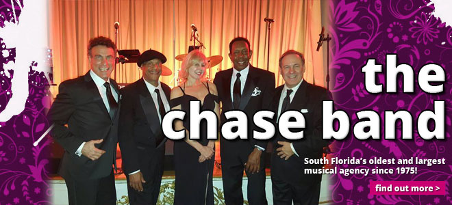 Chase Music and Entertainmet - Miami FL Corporate Entertainment Bands - The Chase Band